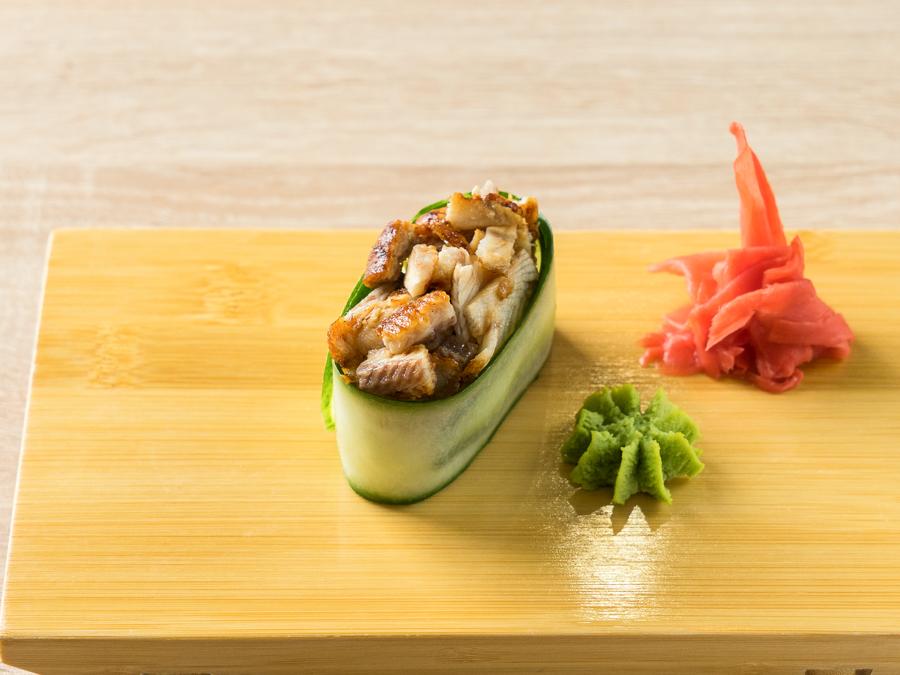 Каппа-суши с угрем