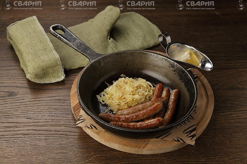 Колбаски Телячьи рубленые