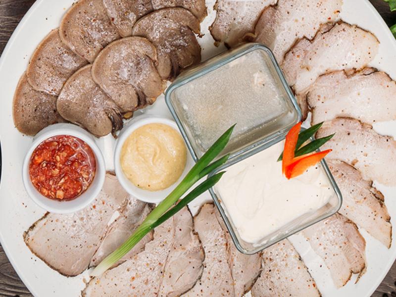 Дегустация домашних мясных деликатесов