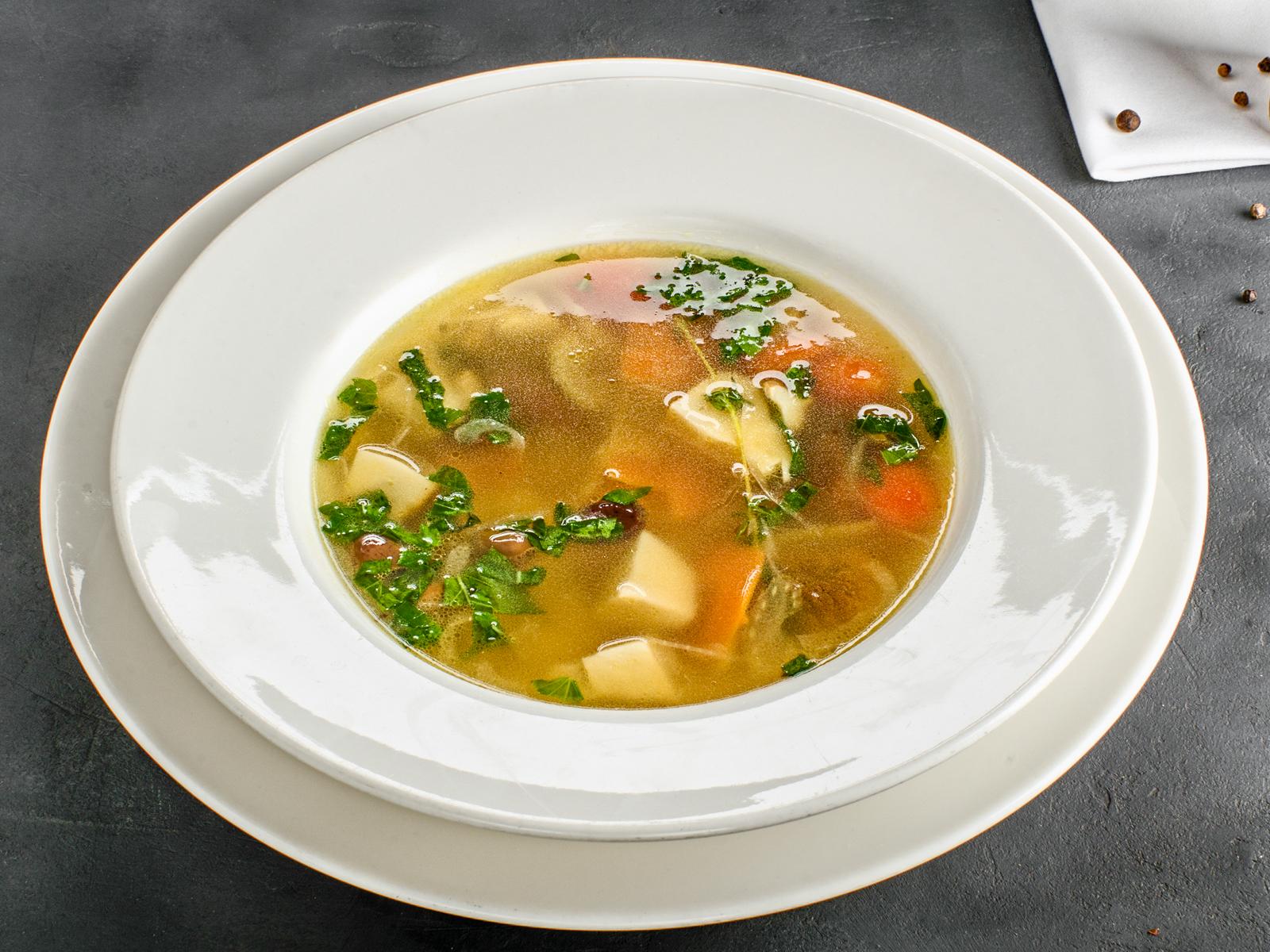 Суп Тосканский грибной