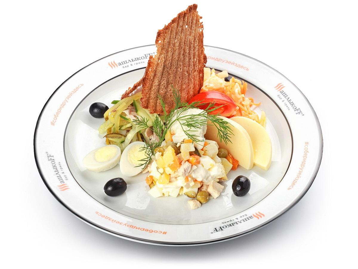 Закуска Салат салатов