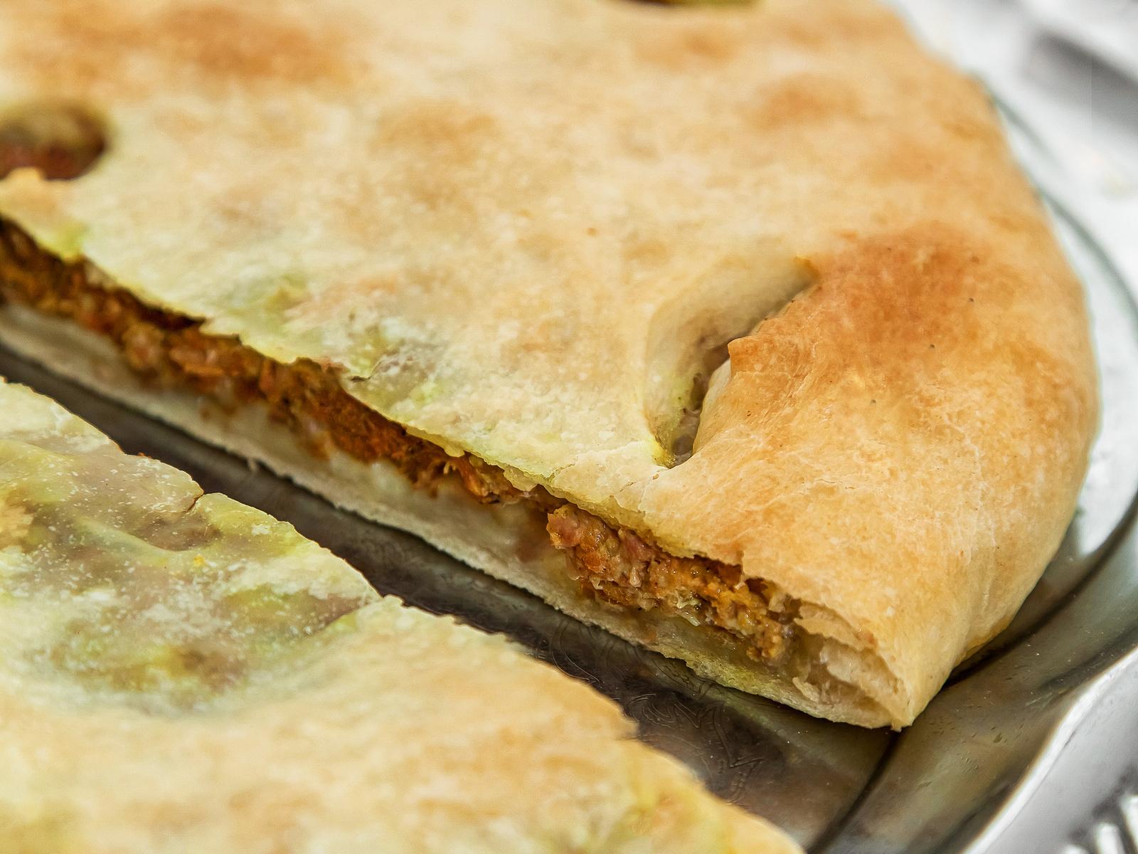 Осетинский пирог со свининой