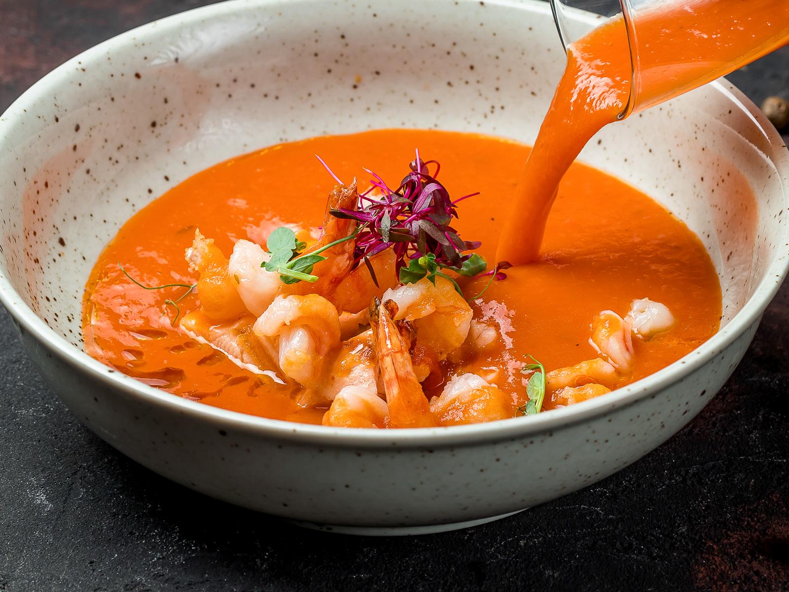 Суп из морепродуктов Андалузский