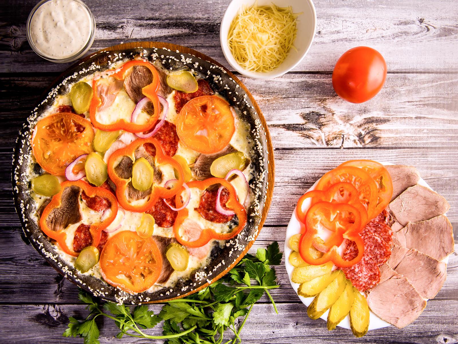 Пицца Гаспаро Неро