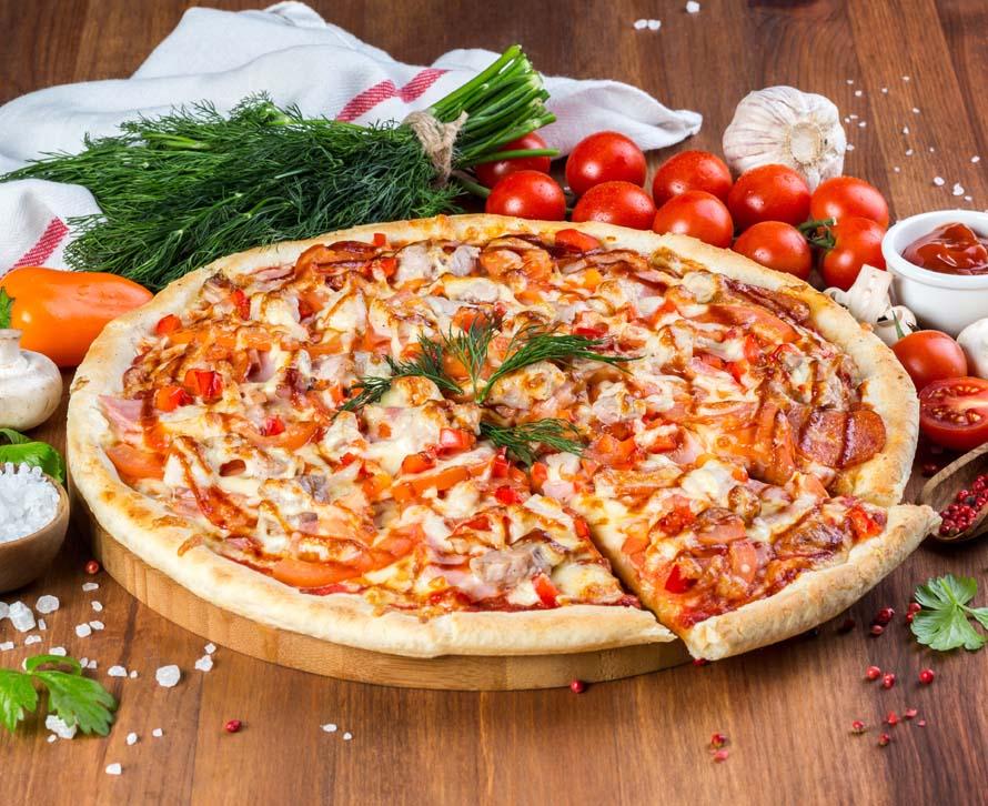 Пицца 2 Берега фирменная