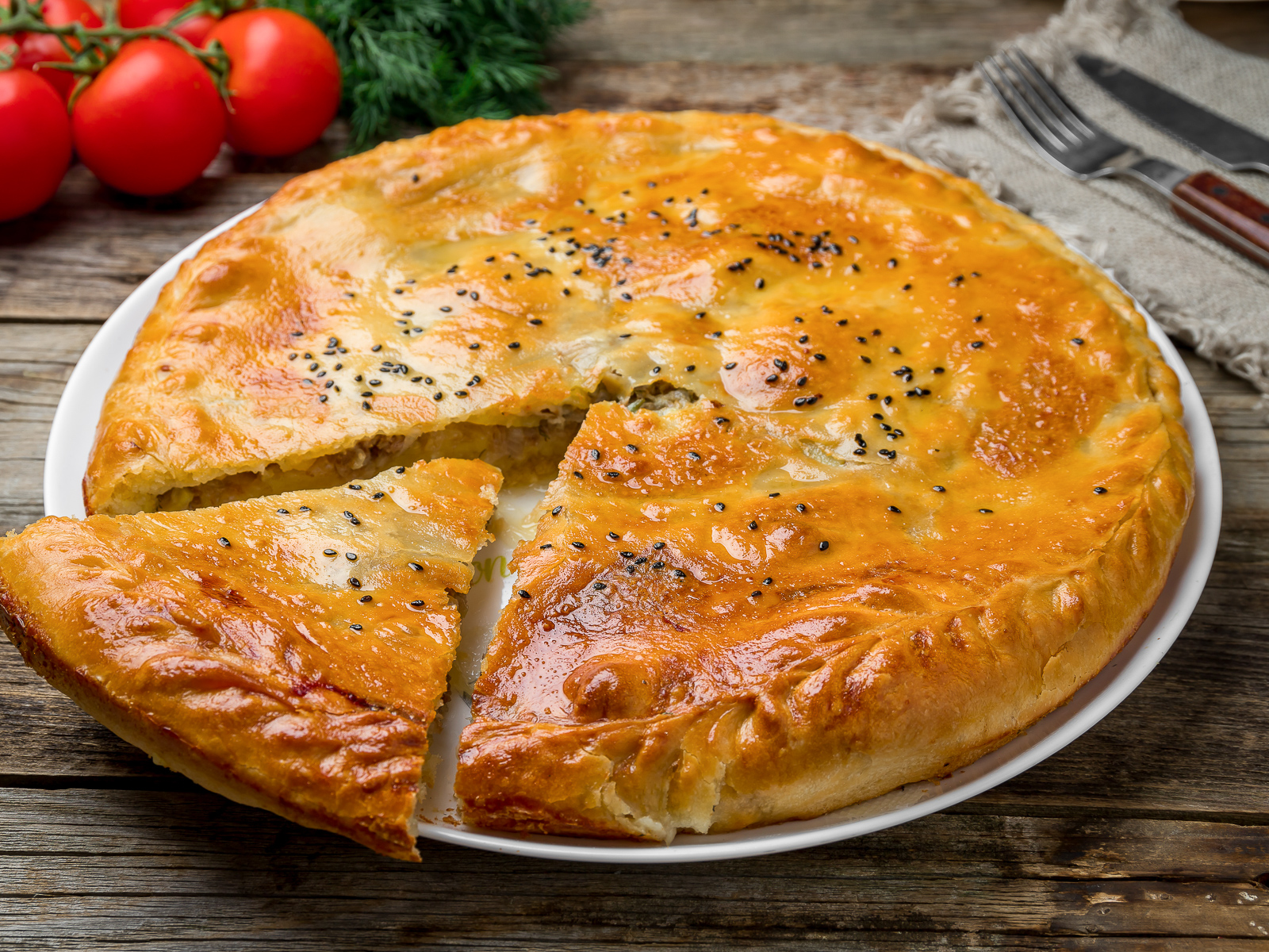 Дагестанский пирог