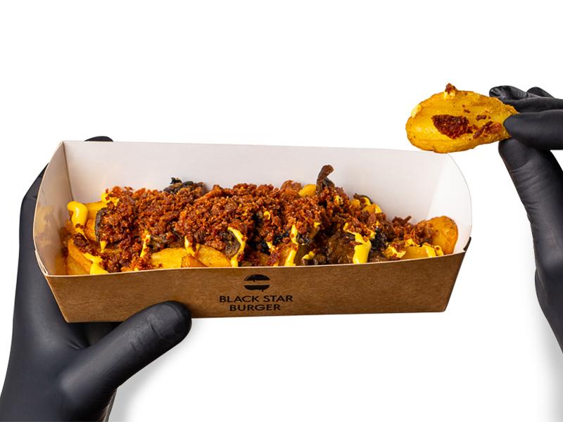 Картофель Крисперс с топпингом