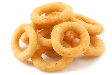 Луковые кольца+соус