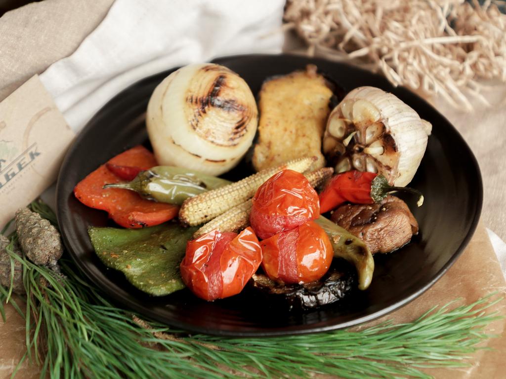Запеченные овощи по-грузински