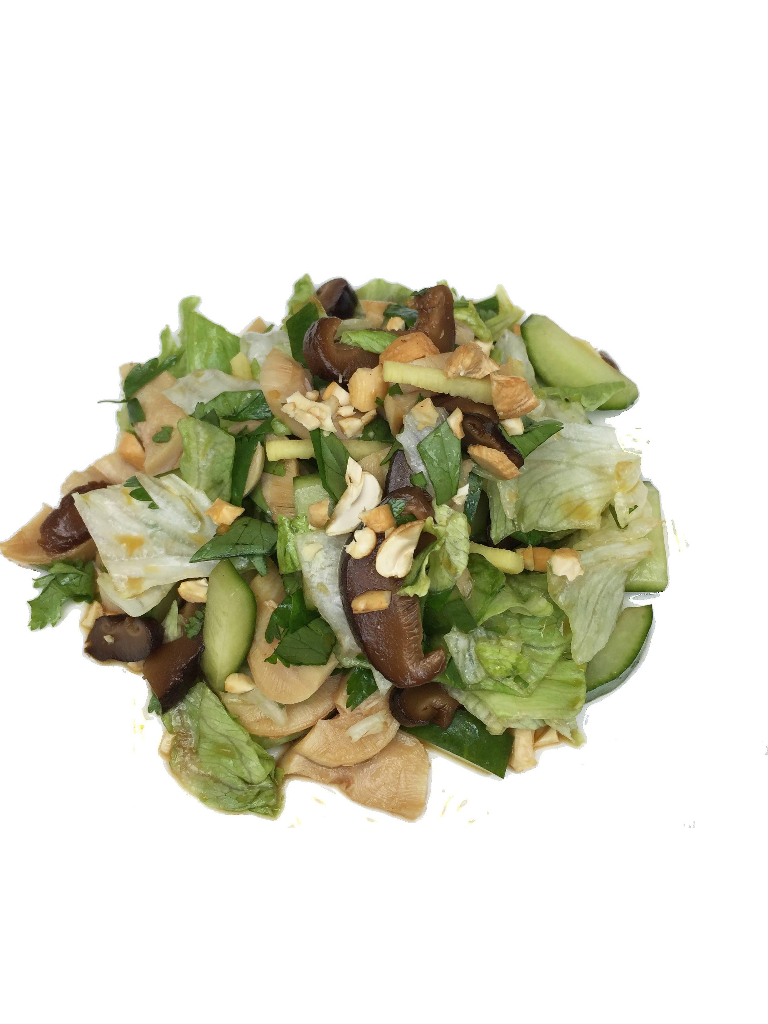 Салат из осьминога с имбирем