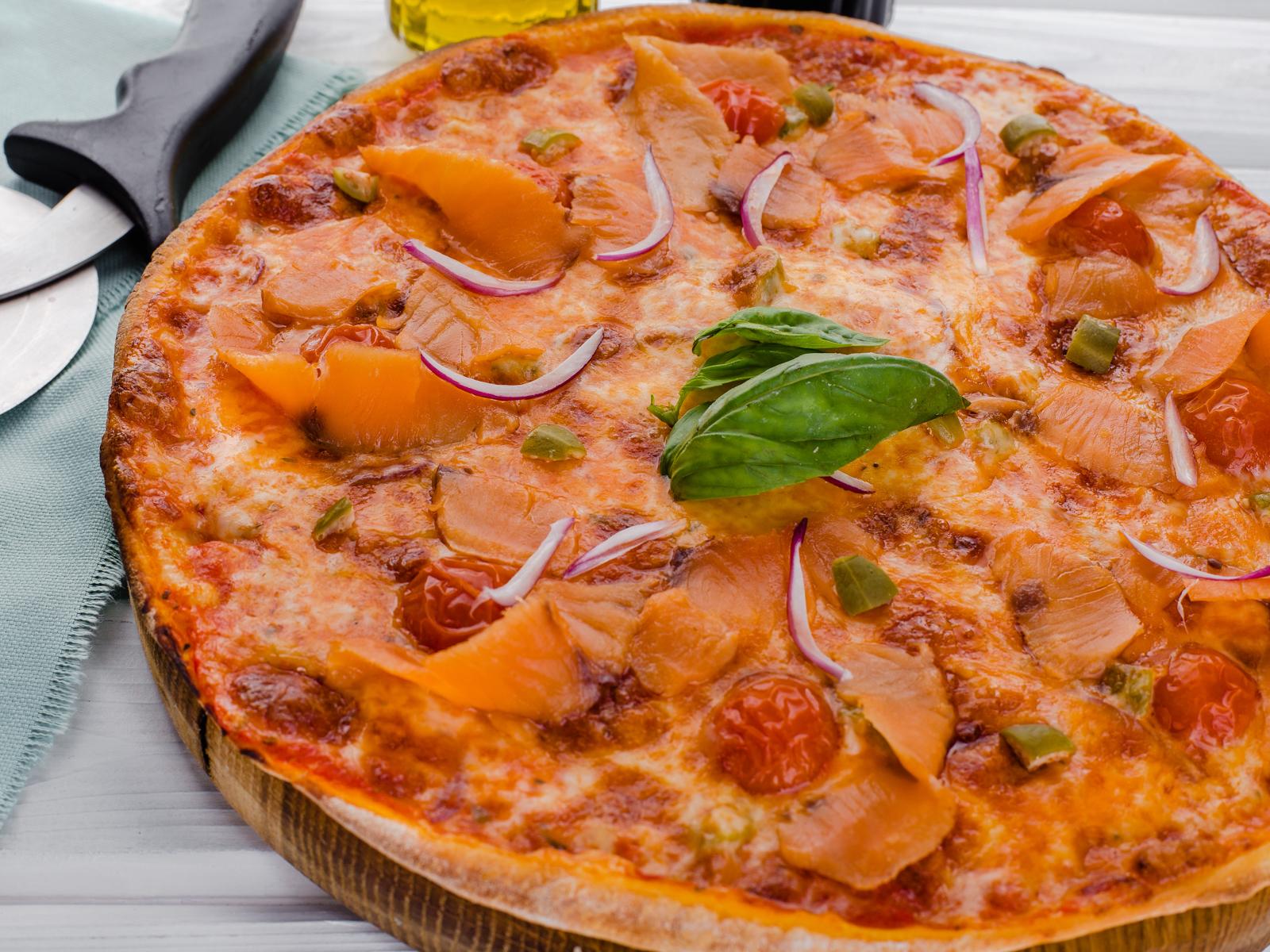 Пицца Аль сальмоне