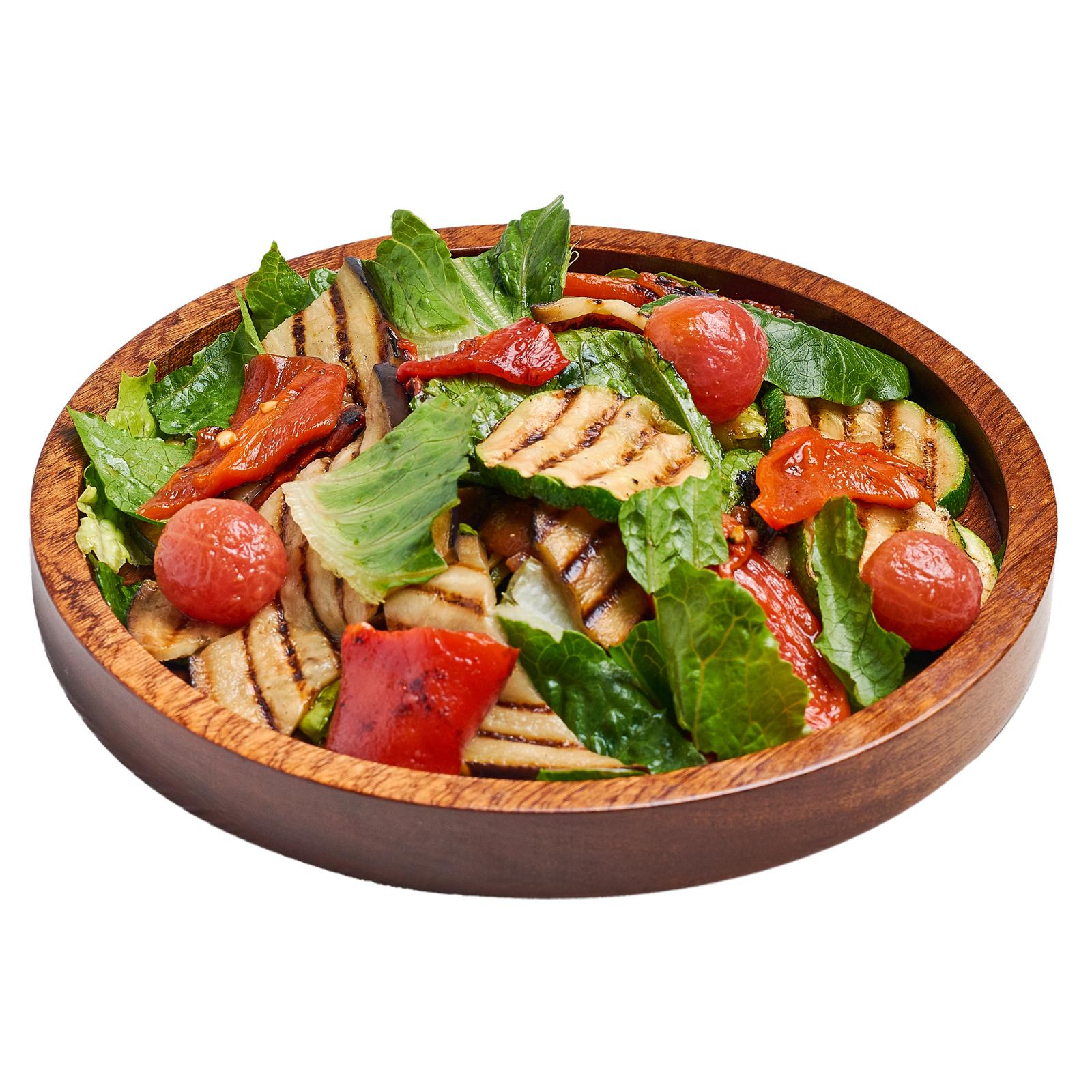 Овощи гриль с соусом Песто