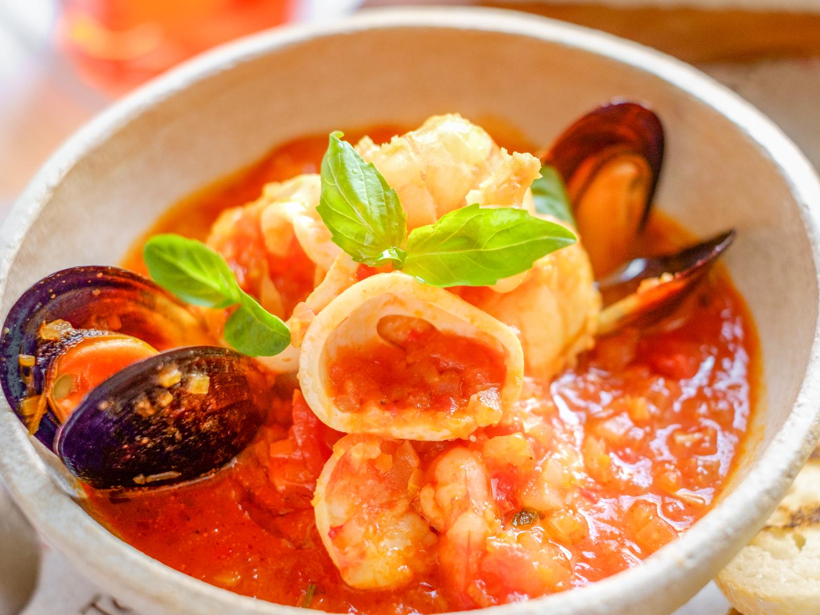 Суп Рыбный тосканский Cacciucco