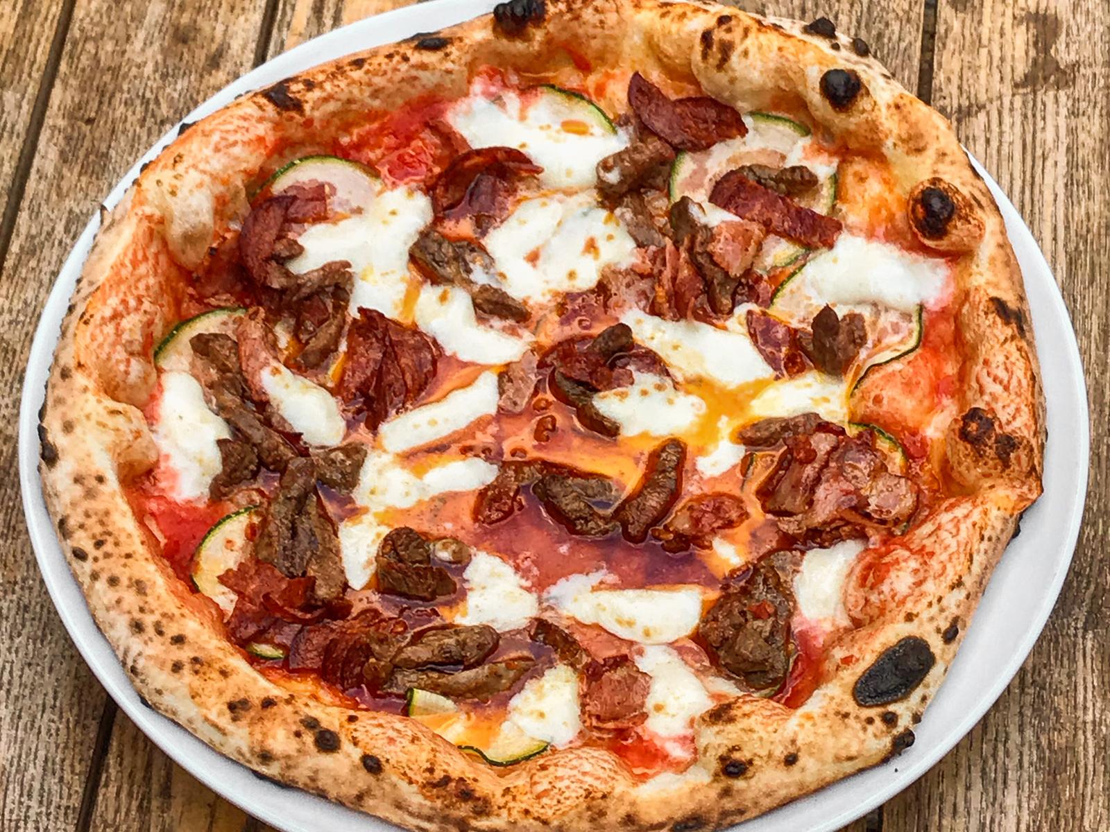 Пицца Обед мясника