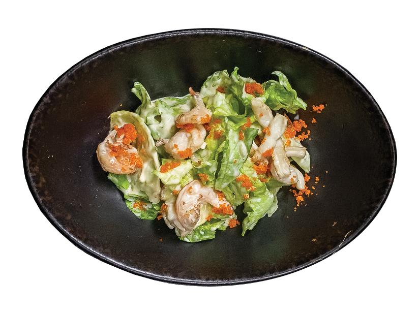 Салат Асама с морепродуктами