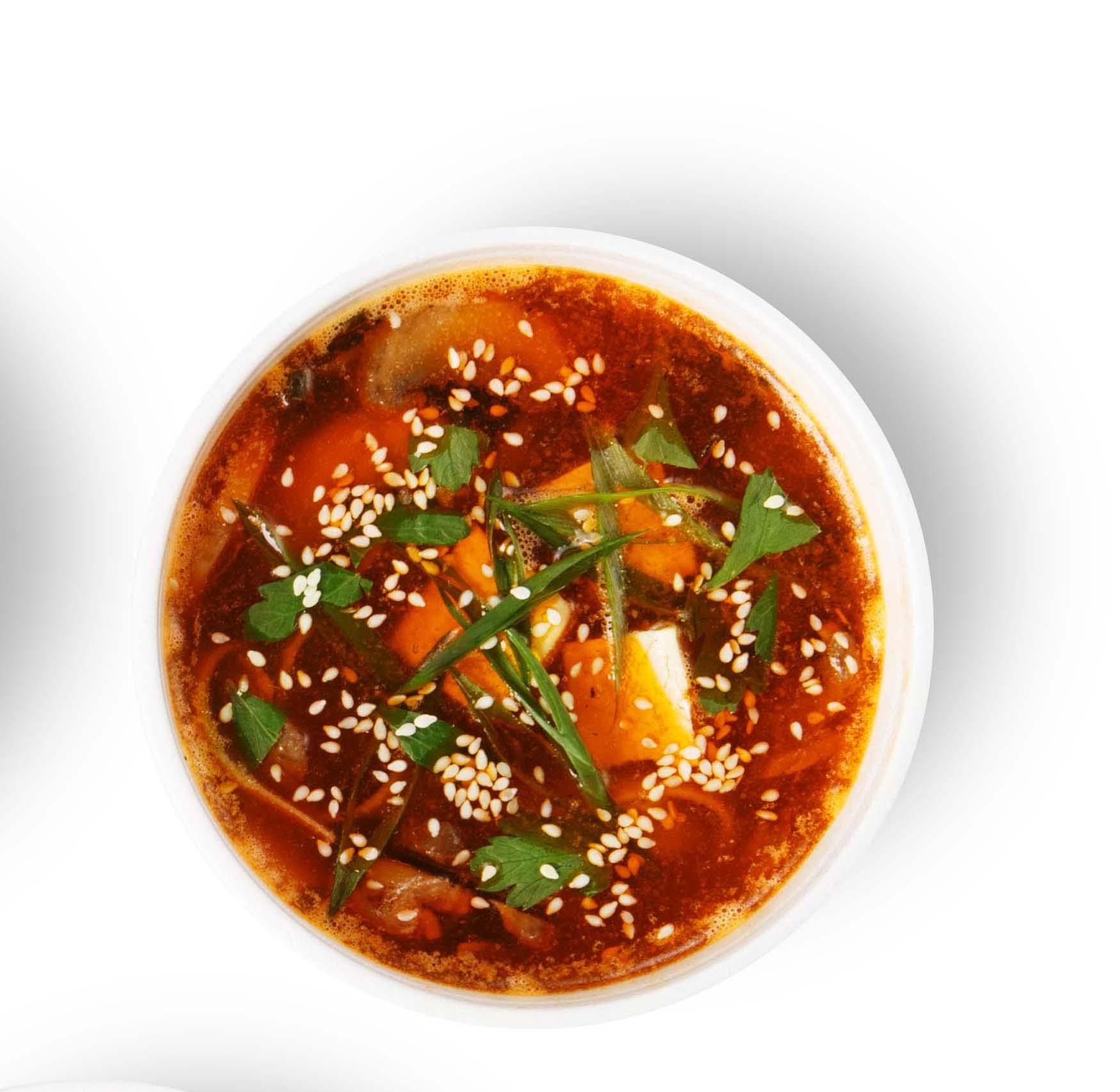 Китайский овощной суп Чжоу Шэньчжэнь