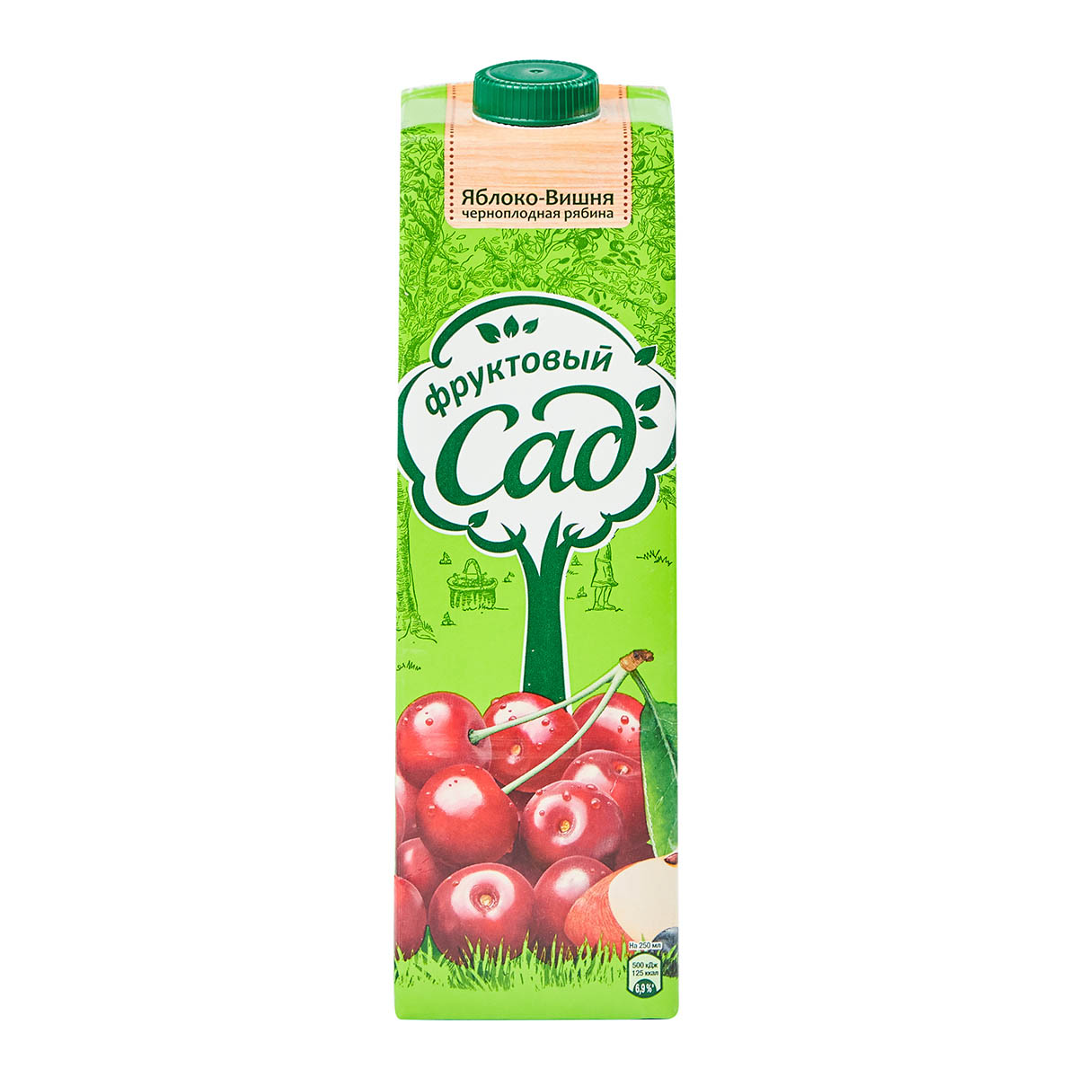 «Фруктовый сад» нектар яблоко-вишня-черноплодка