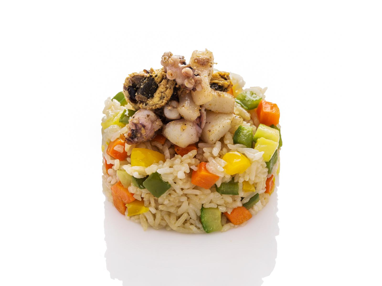 Тяхон с морепродуктами