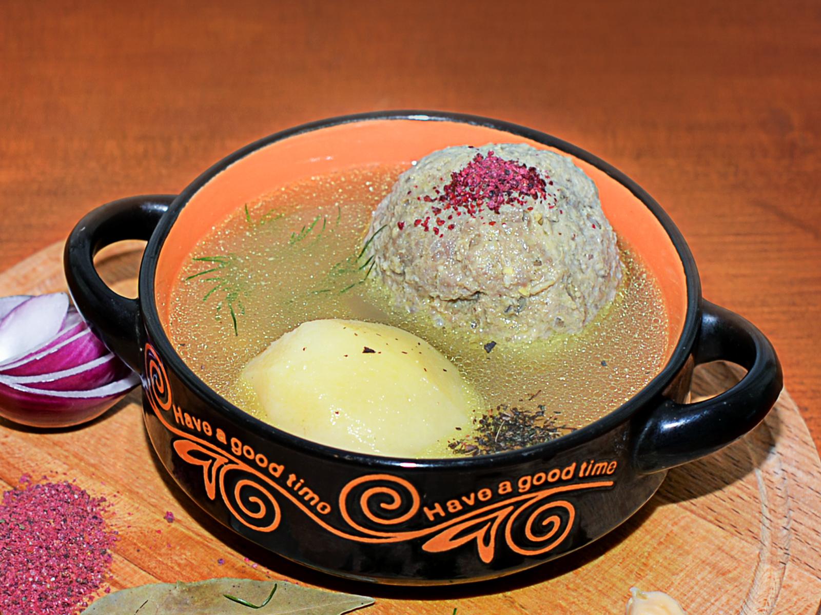 Суп Кюфта по-бакински