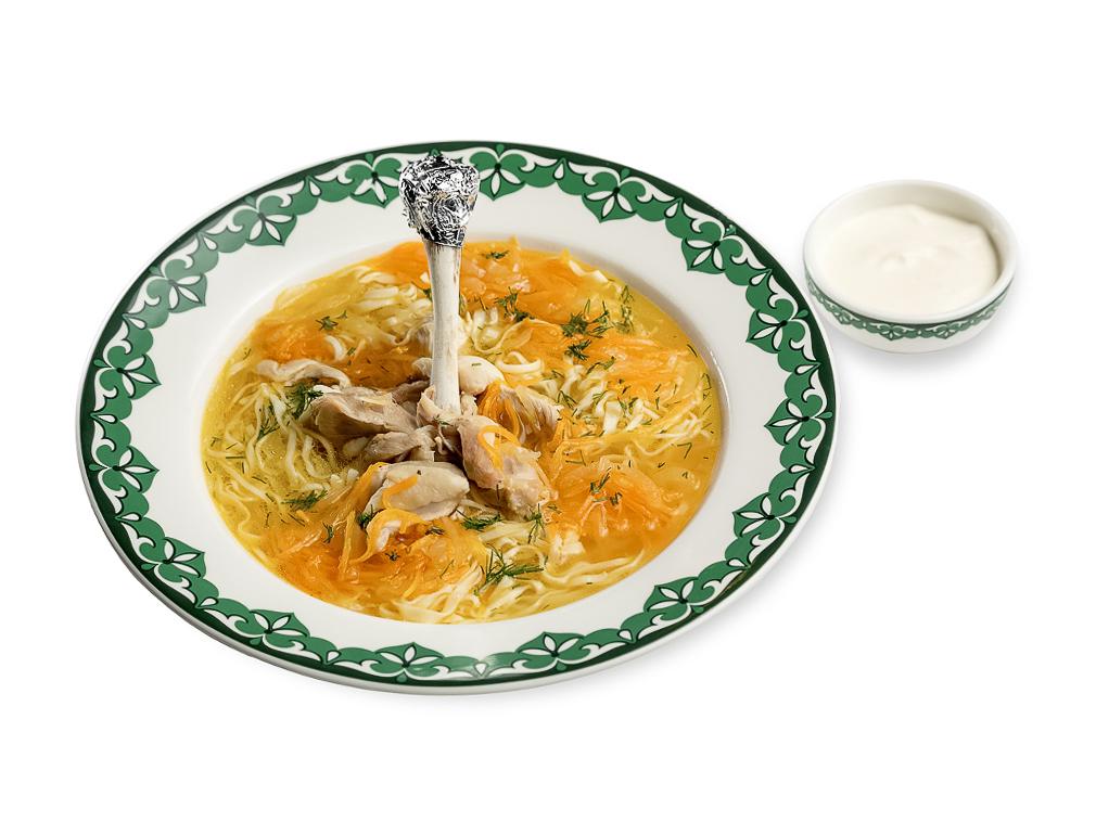Суп Тукмас из птицы
