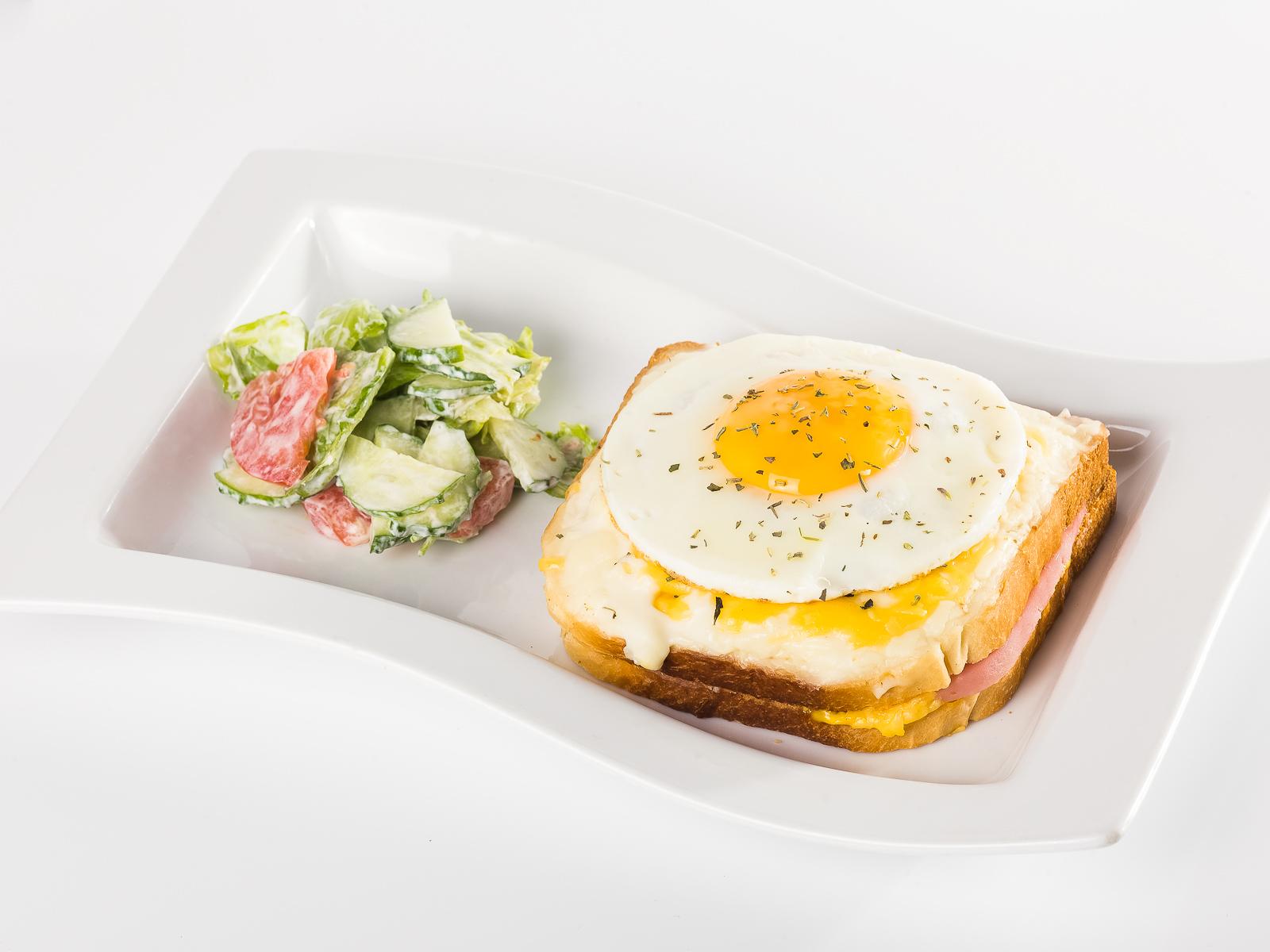 Сэндвич Крок-мадам