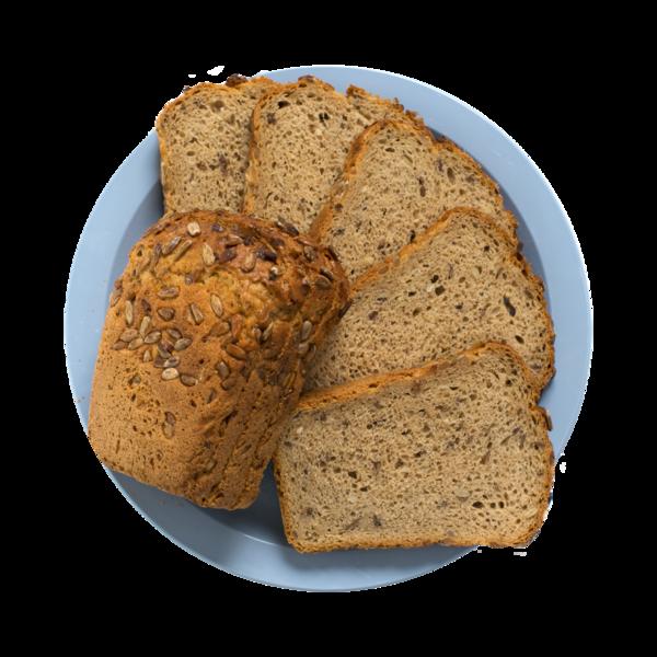 Хлеб 6 злаков нарезанный