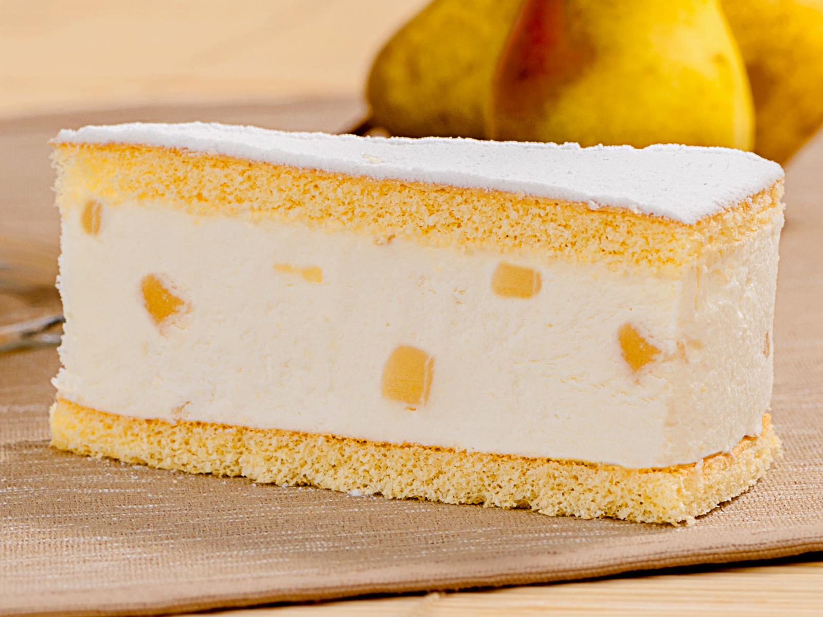 Десерт Груша с рикоттой