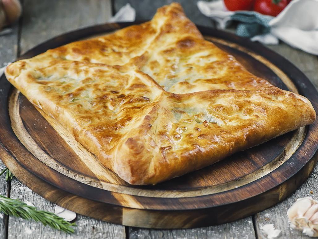Домашний пирог с картофелем и грибами