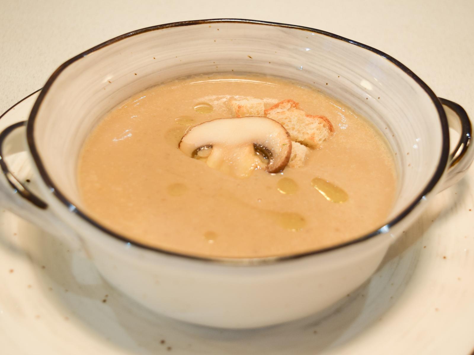 Суп крем из грибов