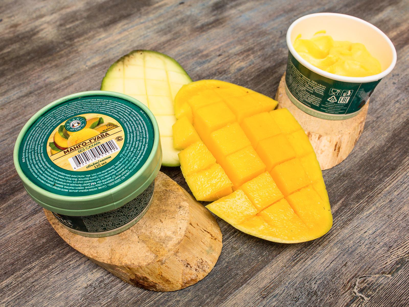 Манго-Гуава на фруктозе
