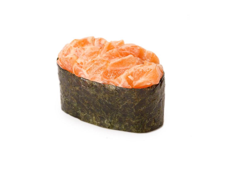 Суши острые с семгой