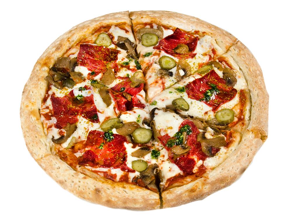 Пицца Окорок с грибами