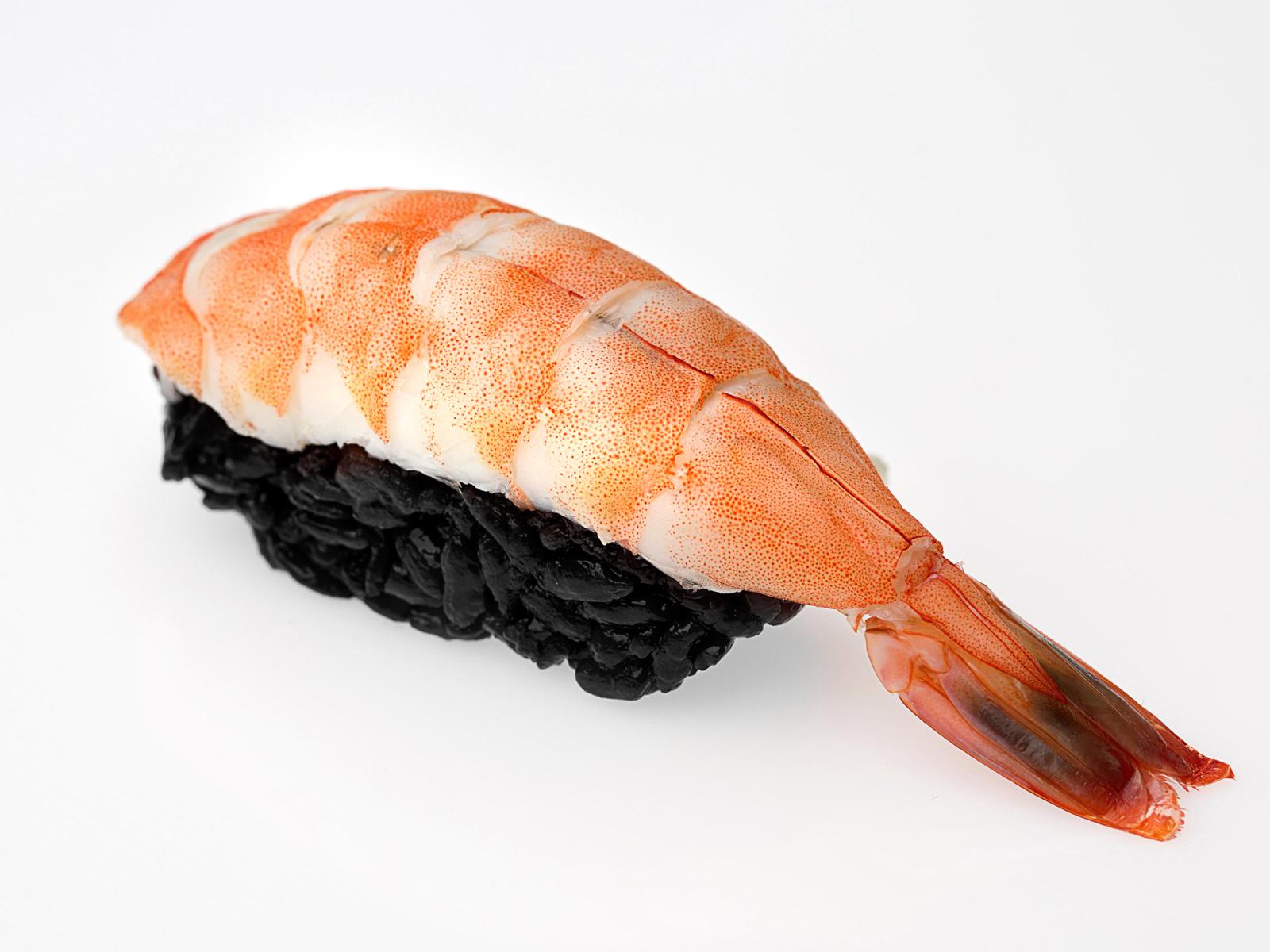 Суши Блек с креветкой