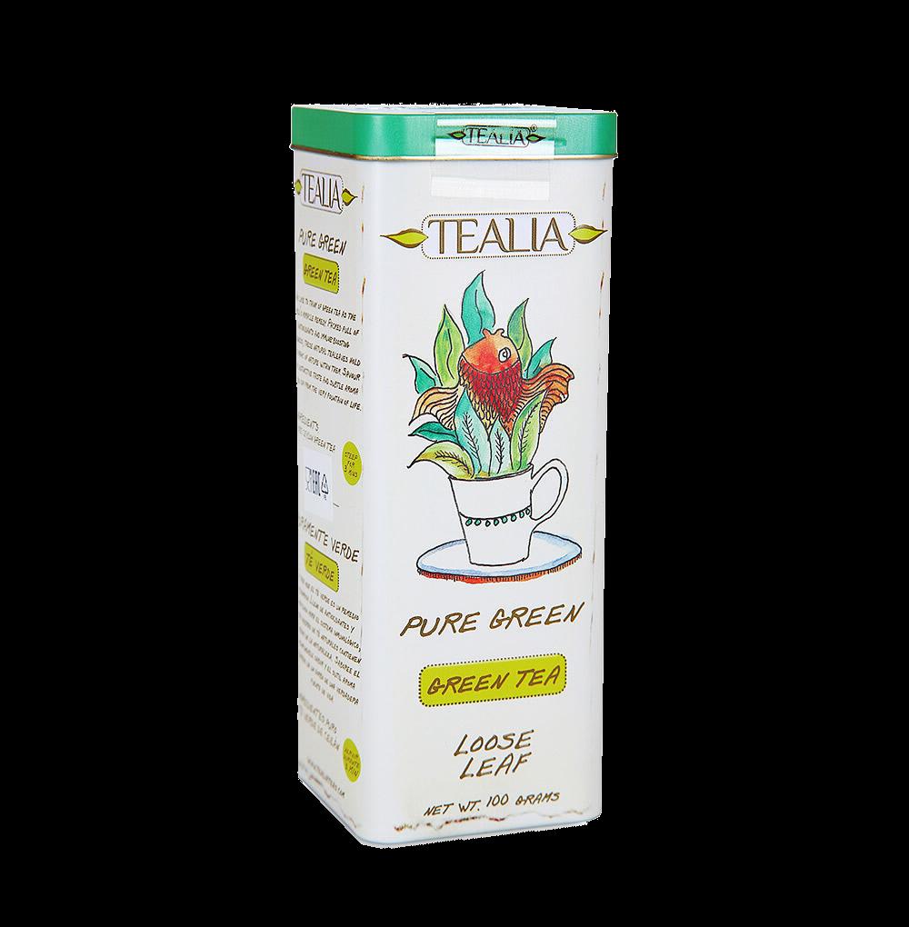 Чай зеленый листовой, TeaLia, Шри-Ланка