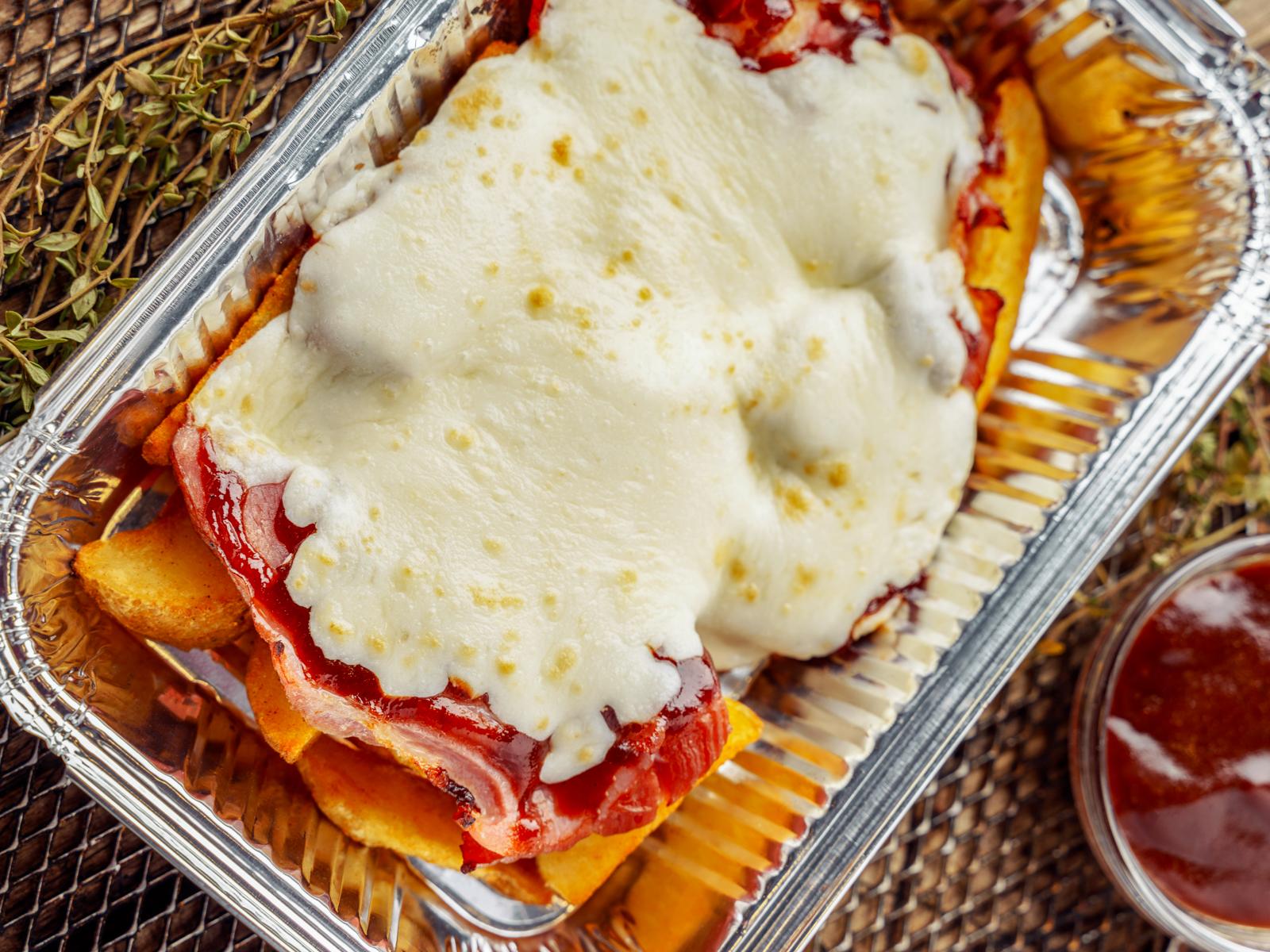 Картофель по-деревенски с беконом