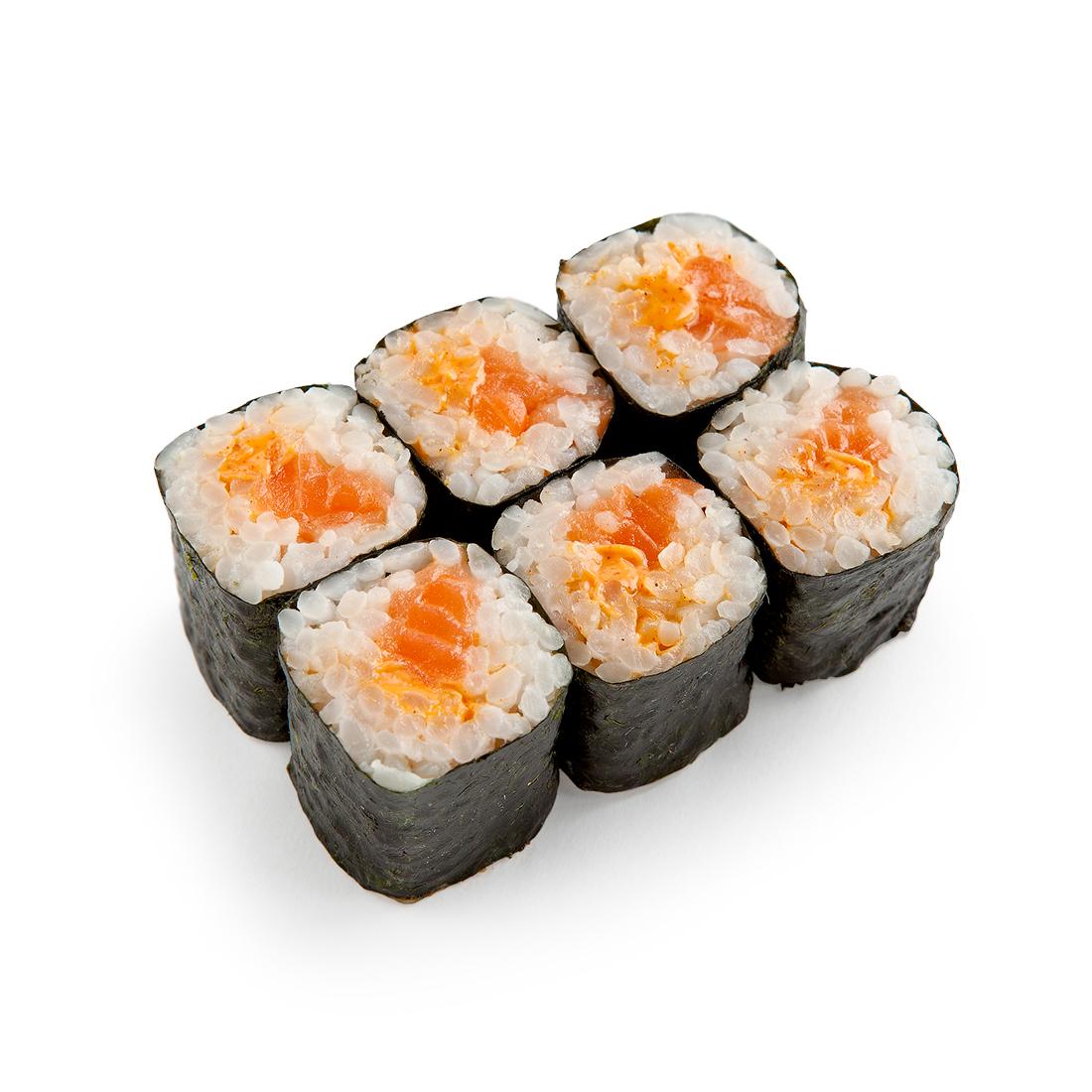 Спайси ролл с лососем