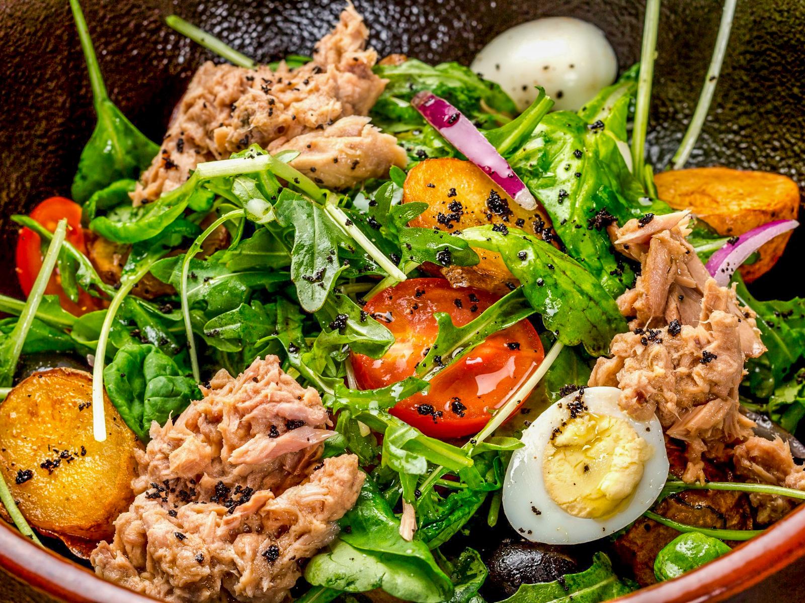Салат с тунцом по-итальянски