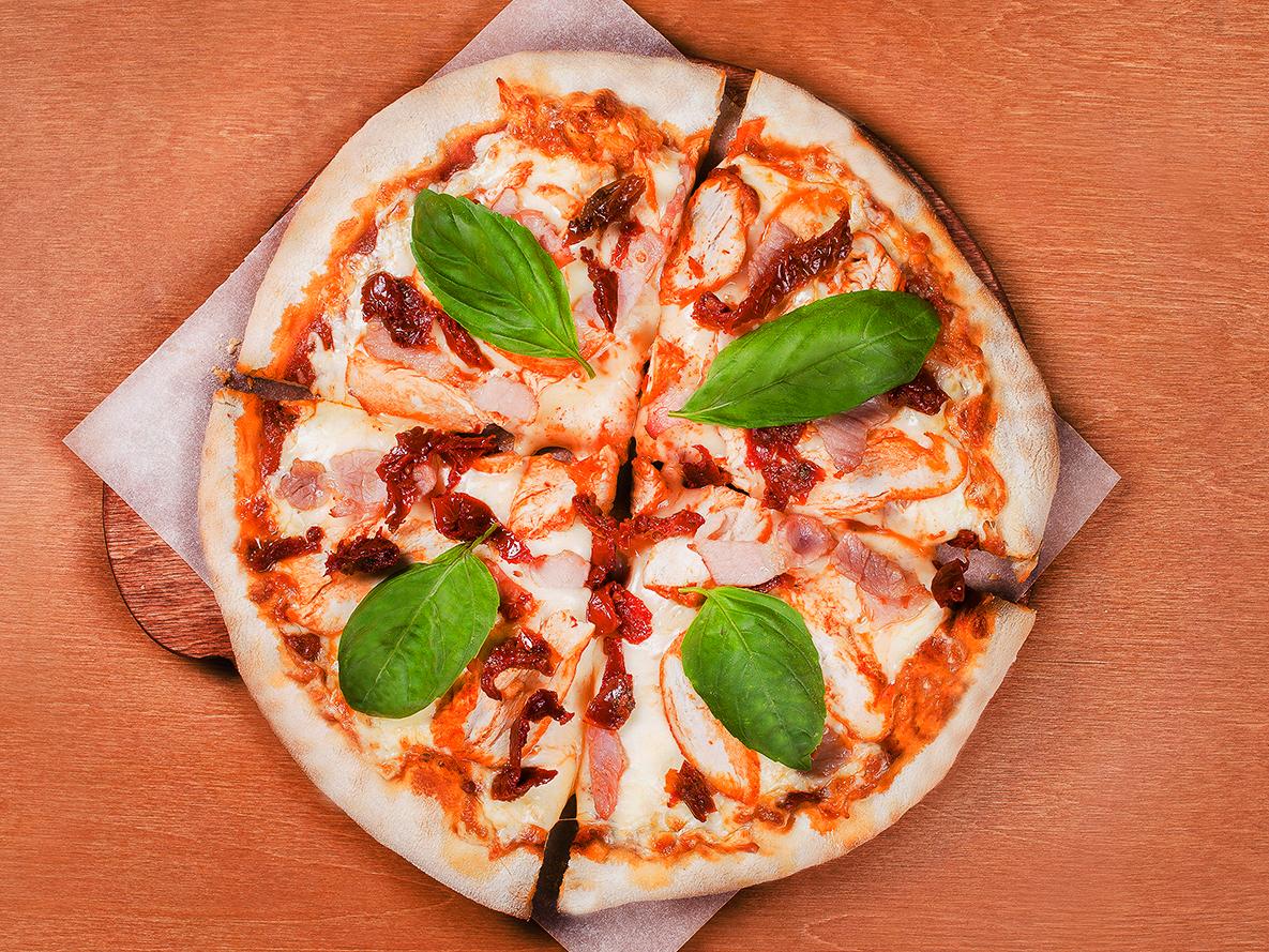 Пицца Чикен и Бекон