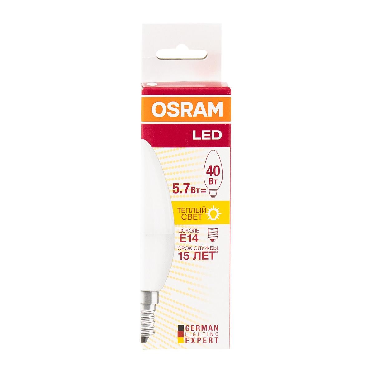 Osram LED, 5,4W, E14