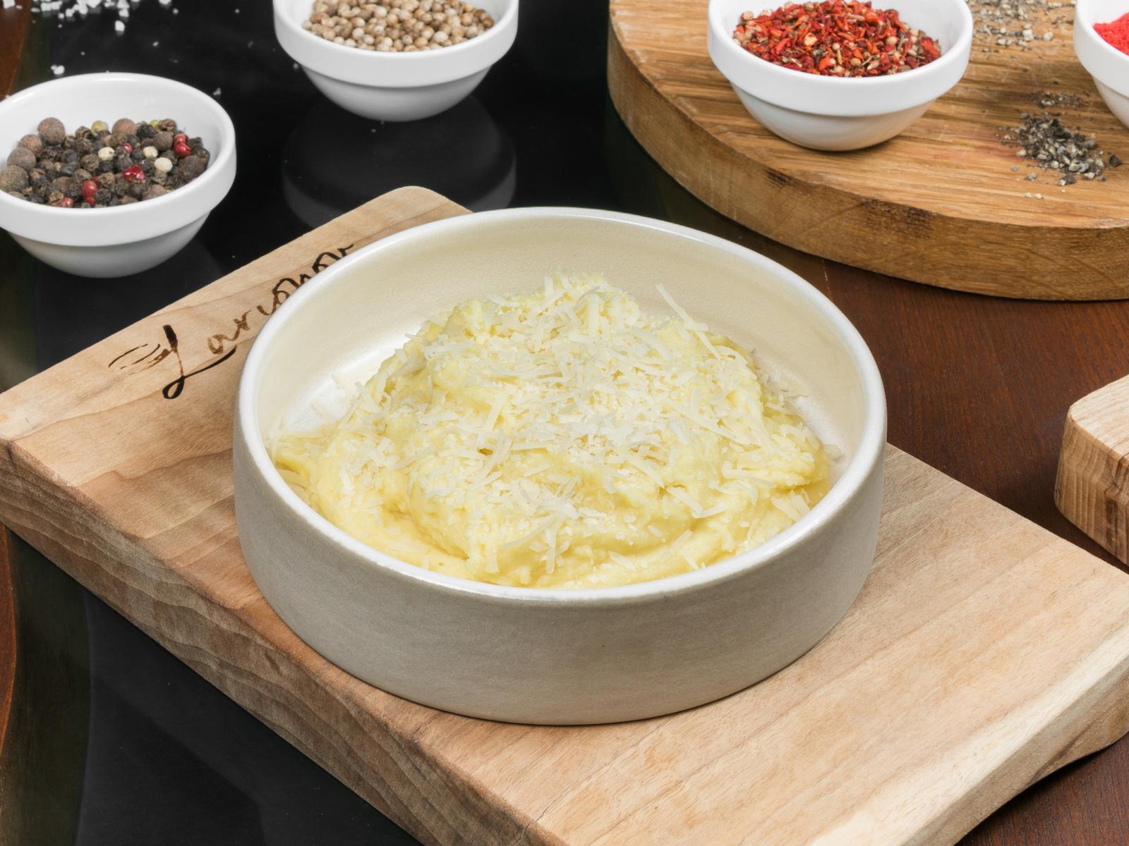 Картофельное пюре с мускатным орехом