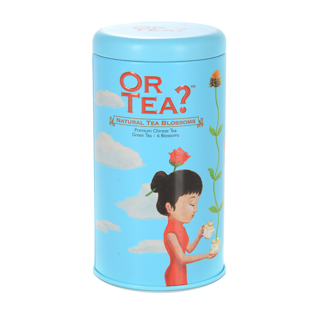 Чай зеленый Or Tea Blossoms в бутонах Or Tea Europe BV ж/б Нидерланды