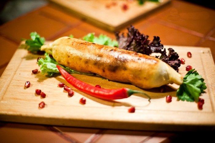 Хачапури на шампуре с сыром Сулугуни