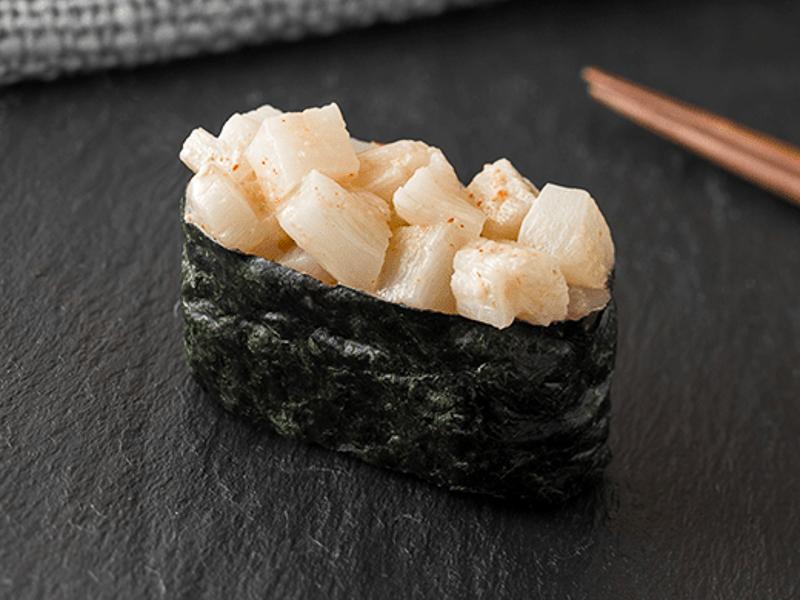 Острые суши Морской гребешок