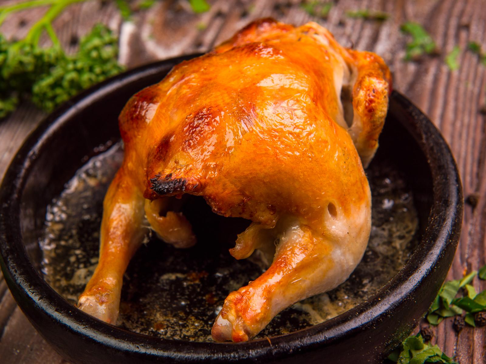 Цыпленок по-гальски