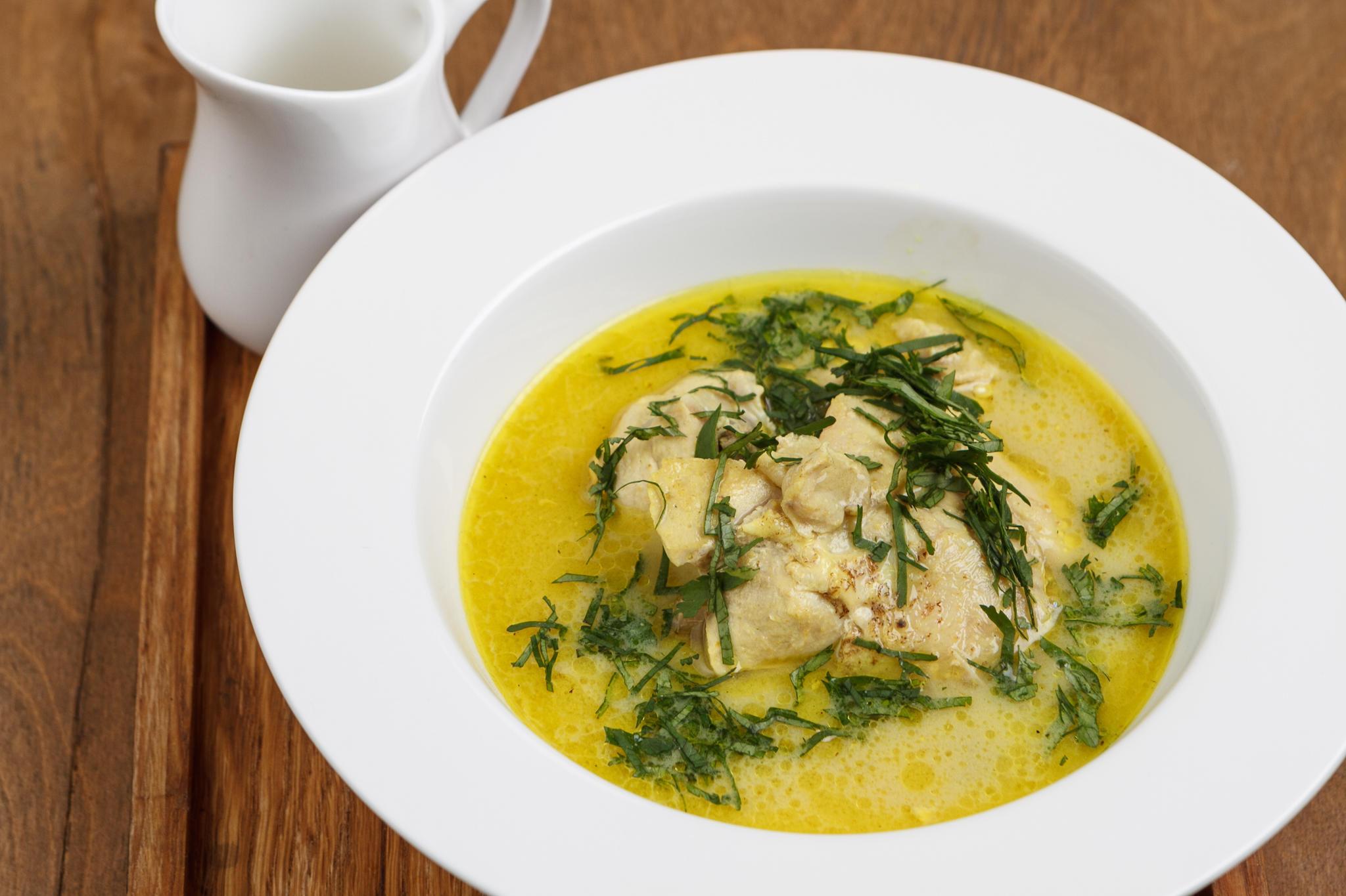 Чихиртма - суп из курицы