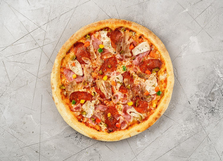 Пицца Мясное асс.40 см