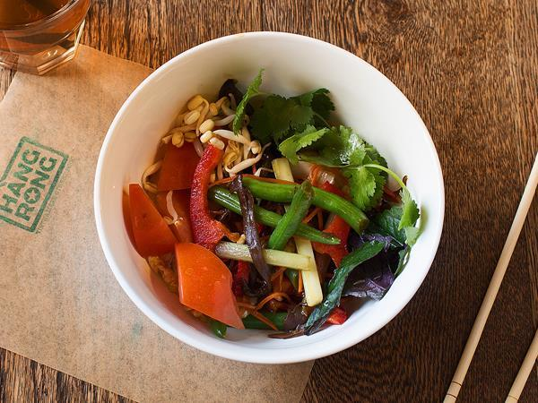 Жареные овощи вок