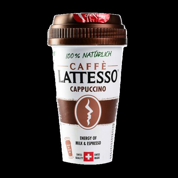 Напиток кофейный Caffe LATTESSO CAPPUCCINO 1,2% с печеньем