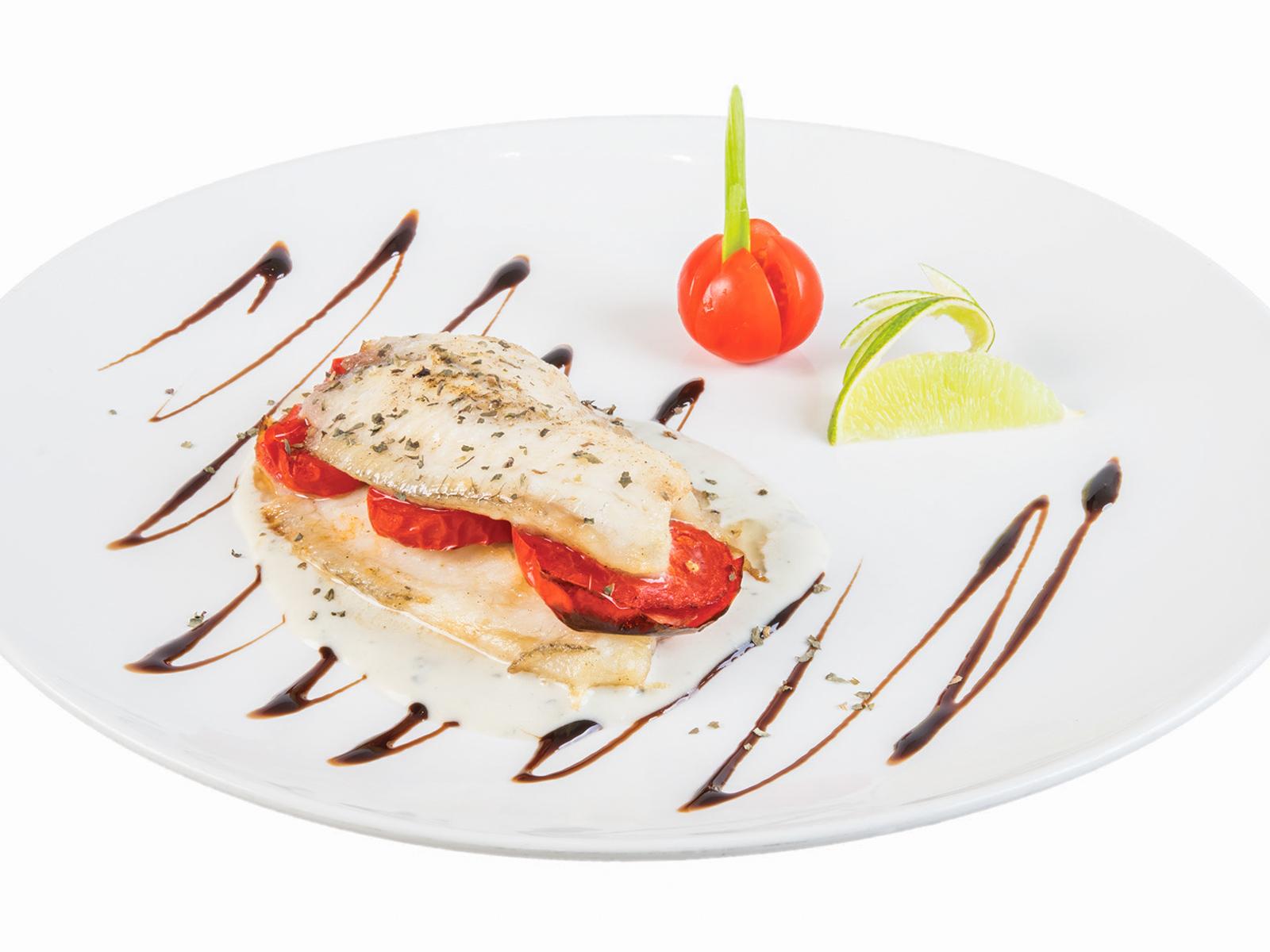 Белая рыба по-итальянски