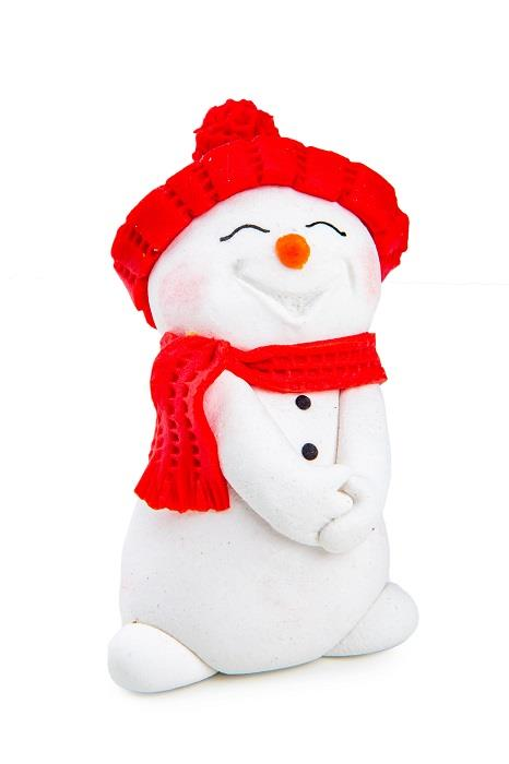 Марципановая игрушка Снеговик